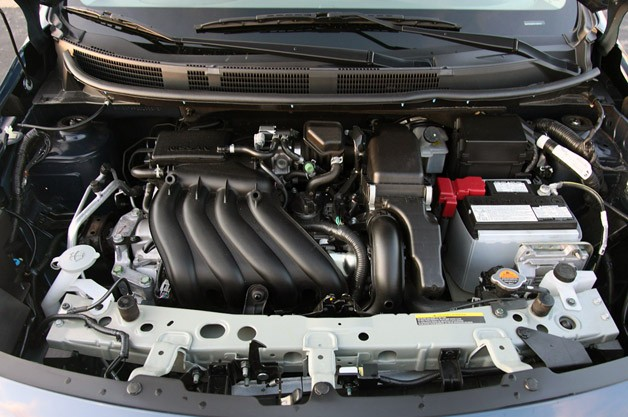 2012 Nissan Versa Sedan engine