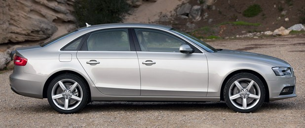 2013 Audi A4 side view