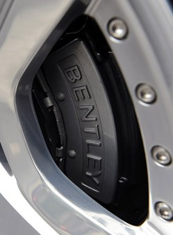 2012 Bentley Continental GTC brake caliper