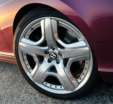 2012 Bentley Continental GTC wheel