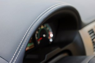 2012 Jaguar XF Supercharged dash
