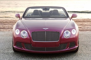 2012 Bentley Continental GTC front view