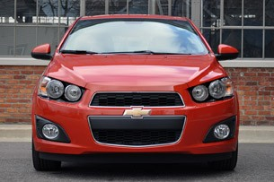 2012 Chevrolet Sonic LTZ front view