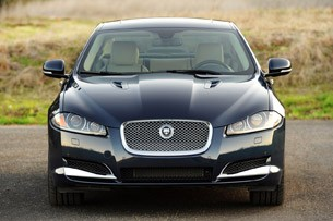2012 Jaguar XF Supercharged front view
