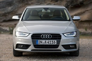 2013 Audi A4 front view