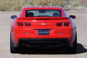 2012 Chevrolet Camaro ZL1 rear view