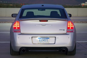 2012 Chrysler 300 SRT8 rear view