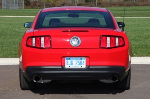 2012 Ford Mustang V6 rear view