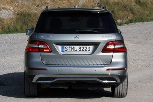 2012 Mercedes ML350 BlueTEC rear view
