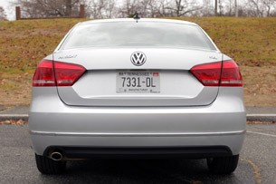 2012 Volkswagen Passat rear view