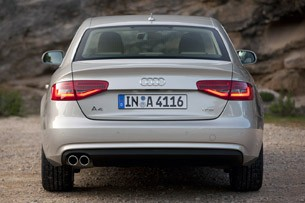 2013 Audi A4 rear view