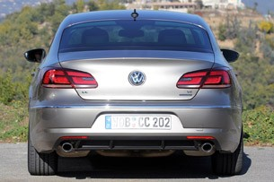 2013 Volkswagen CC rear view