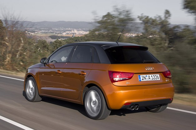 2012 Audi A1 Sportback driving