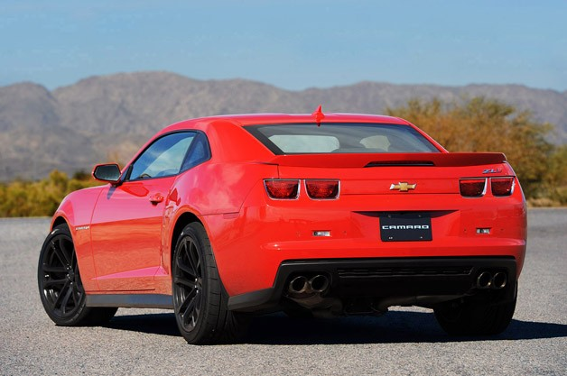 Amazing 2012 Chevrolet Camaro ZL1 Rear 3/4 View