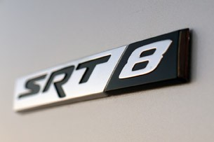 2012 Chrysler 300 SRT8 badge