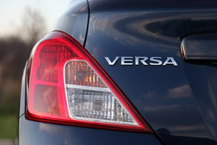 2012 Nissan Versa Sedan taillight
