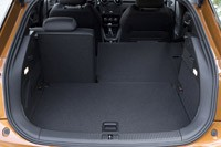 2012 Audi A1 Sportback rear cargo area