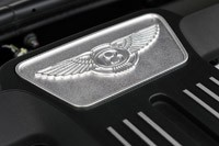 2012 Bentley Continental GTC engine detail