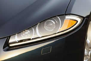 2012 Jaguar XF Supercharged headlight