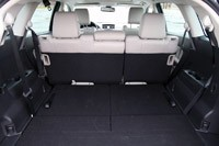 2012 Mazda CX-9 rear cargo area