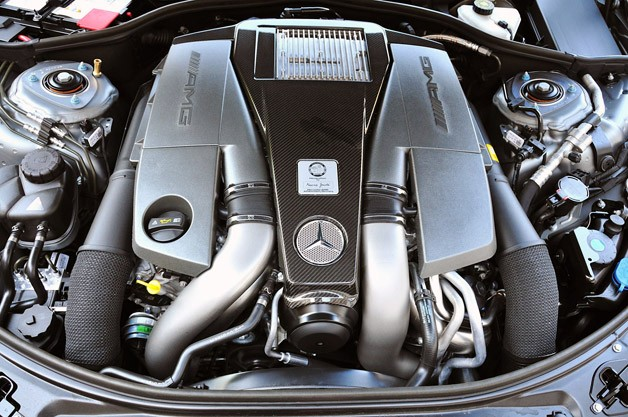 2012 Mercedes-Benz S63 AMG engine