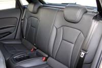2012 Audi A1 Sportback rear seats