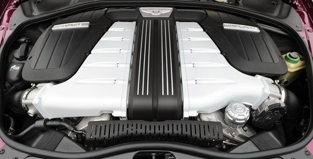 2012 Bentley Continental GTC engine