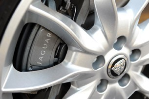 2012 Jaguar XF Supercharged wheel detail