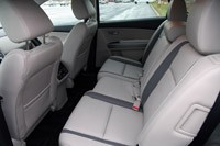 2012 Mazda CX-9 rear seats