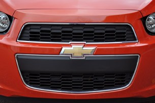2012 Chevrolet Sonic LTZ grille