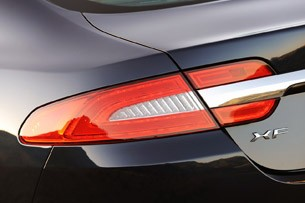 2012 Jaguar XF Supercharged taillight