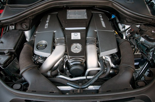 2012 Mercedes-Benz ML63 AMG engine