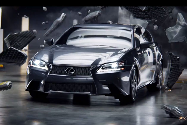 Lexus Super Bowl commercial