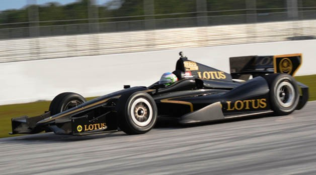 Lotus Dallara DW12 test run