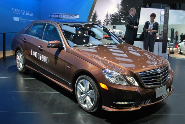 Mercedes-Benz E-Class hybrid