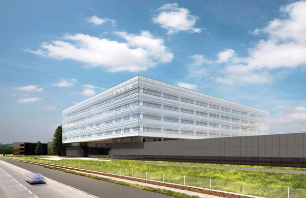 Hyundai U.S. headquarters rendering