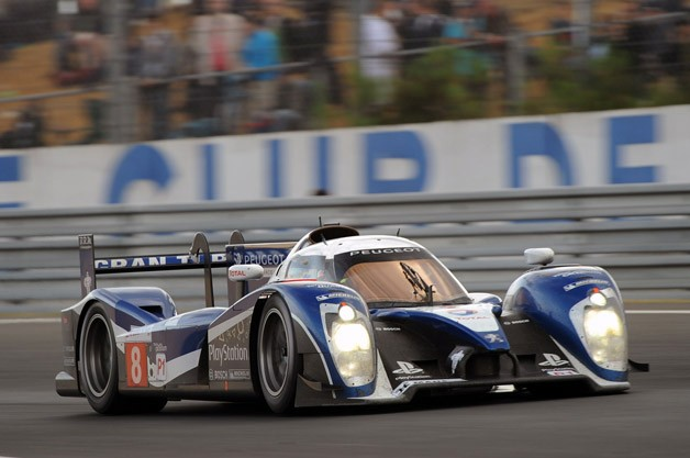 Peugeot 908 at the 2011 24 Hours of Le Mans