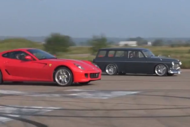 Volvo Amazon vs Ferrari 599