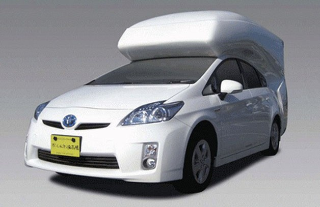 Hatchback Camper Conversion >> Toyota Prius camper conversion has us charging for the woods