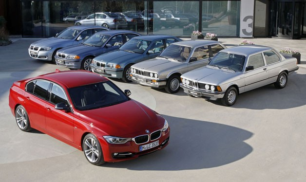 BMW 3 Series family portrait