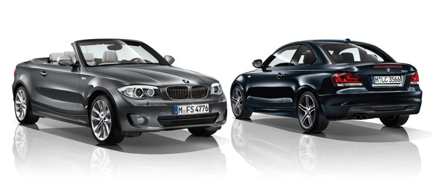 BMW 1 Series Convertible Edition Exclusive and Coupe Edition Sport