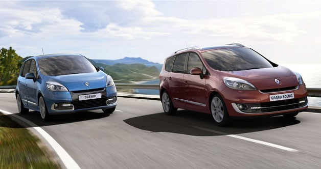 2012 Renault Scenic and Grand Scenic