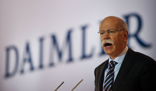 Daimler CEO Dieter Zetsche