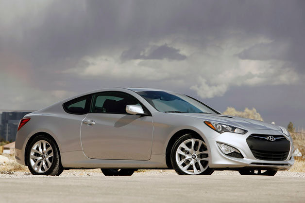 ... Four Cylinder With Either A Six Speed Manual Gearbox Or A  New To The Line Eight Speed Automatic. The Gearboxes Help This Version Of  The Genesis Coupe ...