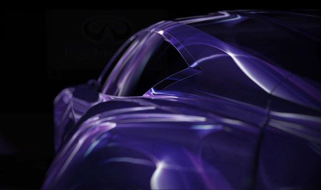Infiniti EMERG-E Concept teaser