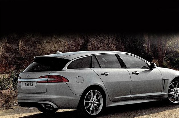 Jaguar XF Sportbrake leaflet pics leap out onto Internet