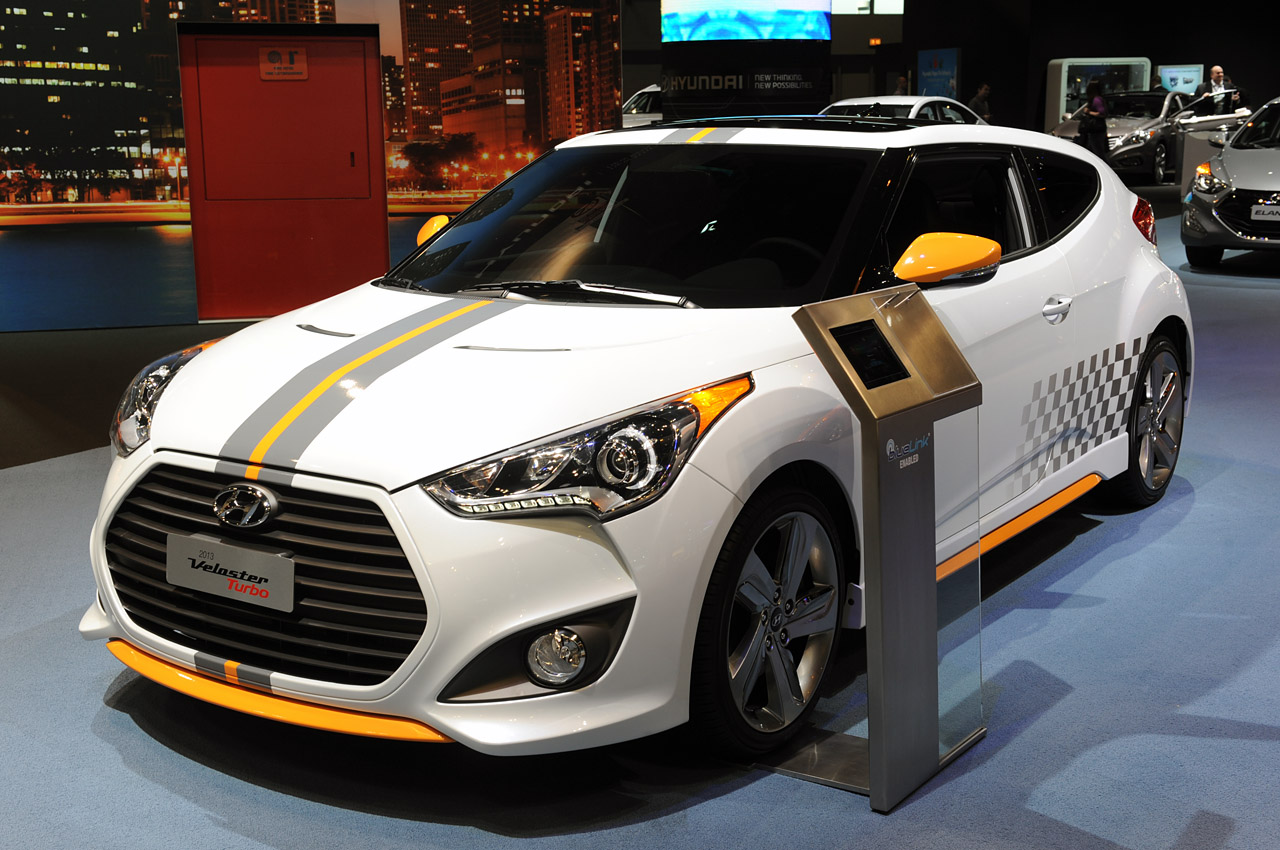 Hyundai adds more spunk to Veloster Turbo with graphics package - Autoblog