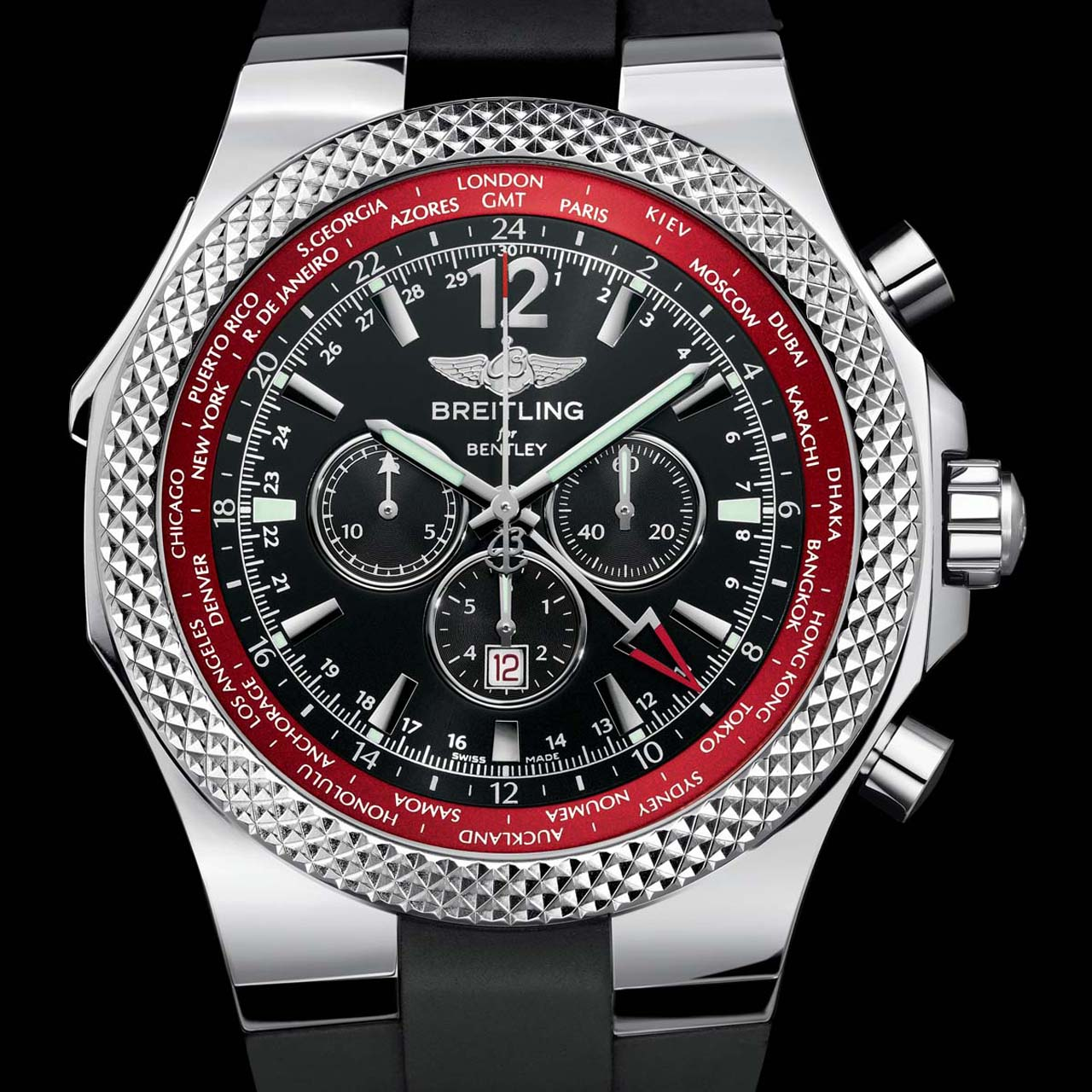 Breitling Celebrates New Continental GT With GMT V8