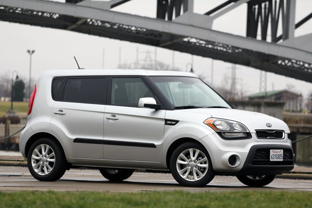 2012 Kia Soul base model with bridge