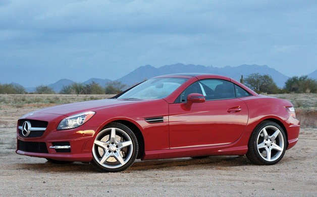 2012 Mercedes-Benz SLK350